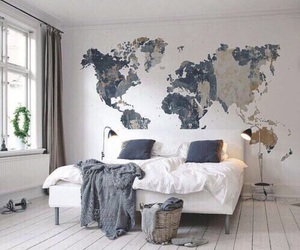 bedroom, world, and cosy image