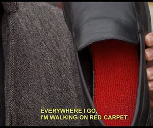 red carpet, funny, and red image