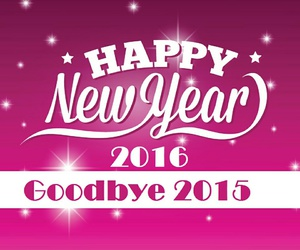 happy new year and 2016 image