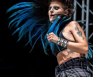automatic loveletter, juliet simms, and andy biersack image