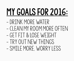 2016, goals, and new year image