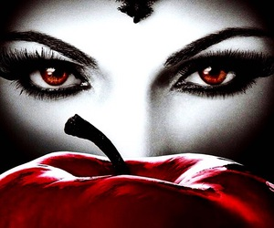 apple, snow white, and eyes image