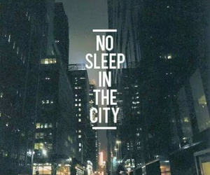 city, sleep, and night image