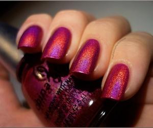 nails, nail polish, and china glaze image