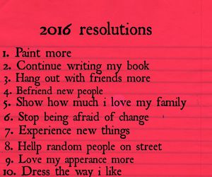 2016, list, and new year image