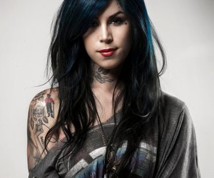 kat von d and tattoo image