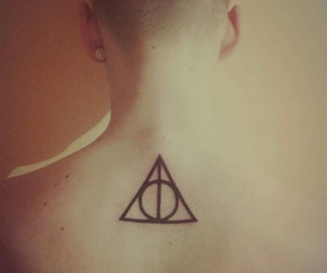 deathly hallows, harry potter, and nature image