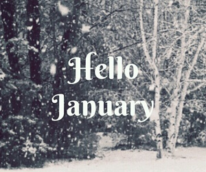 2016, hello, and january image