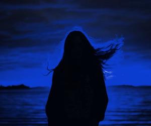 alternative, blue, and dark image