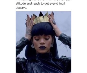 rihanna, Queen, and 2016 image
