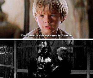 Anakin Skywalker, darth vader, and star wars image