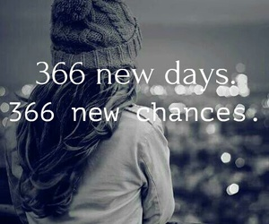 new year, chances, and days image