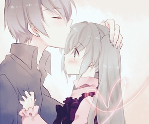 anime, kiss, and vocaloid image