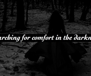 Darkness, emotionless, and dark image