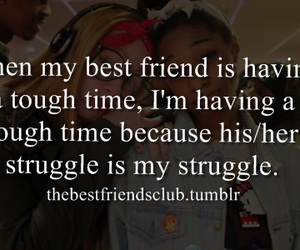 best friend, i AM, and struggle image
