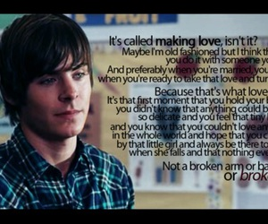 movie, quote, and zac image