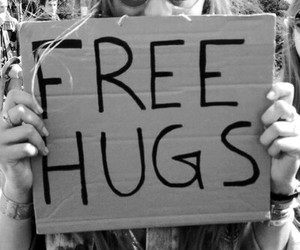 hugs, hippie, and free image