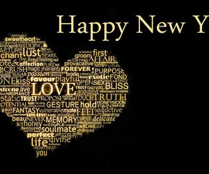 new year, romantic new year images, and love image