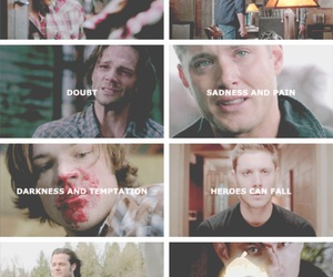 quote, spn, and supernatural image