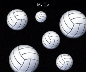 background, life, and volley image