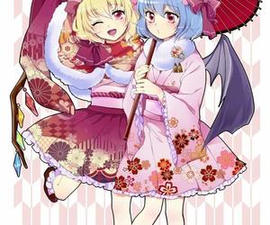 2016, anime and manga, and flandre scarlet image