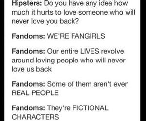 fictional, love, and hipsters image
