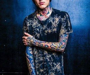 bmth, Tattoos, and oliver sykes image