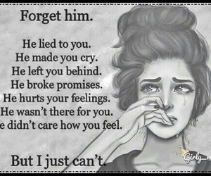 cry, hurt, and lied image