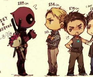 deadpool, spiderman, and steve rogers image