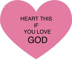 god, girly, and heart image
