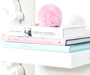 book, chanel, and pink image