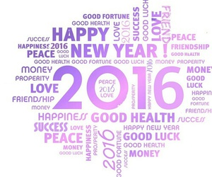 2016, happy, and happy new year image