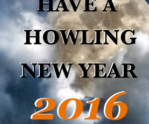happy new year, new year, and werewolf image