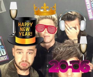 happy new year, liam payne, and niall horan image
