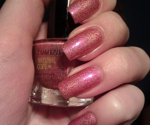 pink, plain, and shimmer image