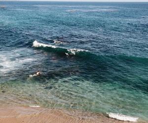 agua, amor, and playa image