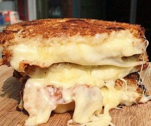 bread, cheese, and eat image