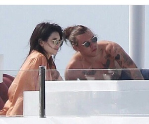 glasses, shirtless, and Kendall image
