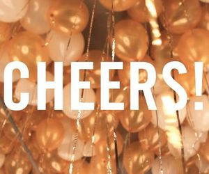 2016, cheers, and new year image