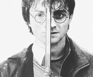 hero, harry potter, and sword image