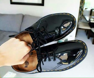 black, shoes, and my love image