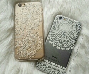 iphone, case, and gold image