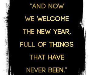 quote and new year image