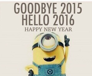 2016, happy new year, and 2015 image