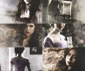 tvd, katherine pierce, and Nina Dobrev image