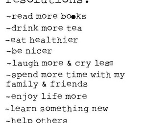 new year, resolution, and tea image