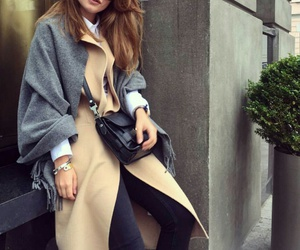 classy, fashion, and gray image