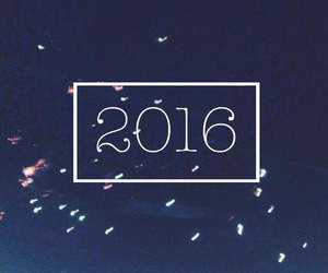 2016, 2k16, and new years eve image