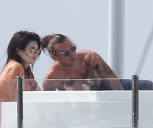 couple, kendall jenner, and hendall image