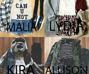 outfit, allison argent, and lydia martin image